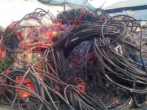 "上海废旧电线电缆回收"""