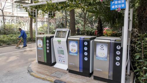 """上海标准家用分类垃圾袋、桶最快下个月面市,居民分错类竟还能""""提醒"""""""