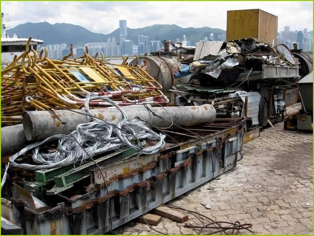 上海廢品回收之回收的廢品要如何分類?